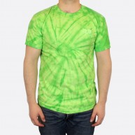 Alien T-Shirt - green tie-dye