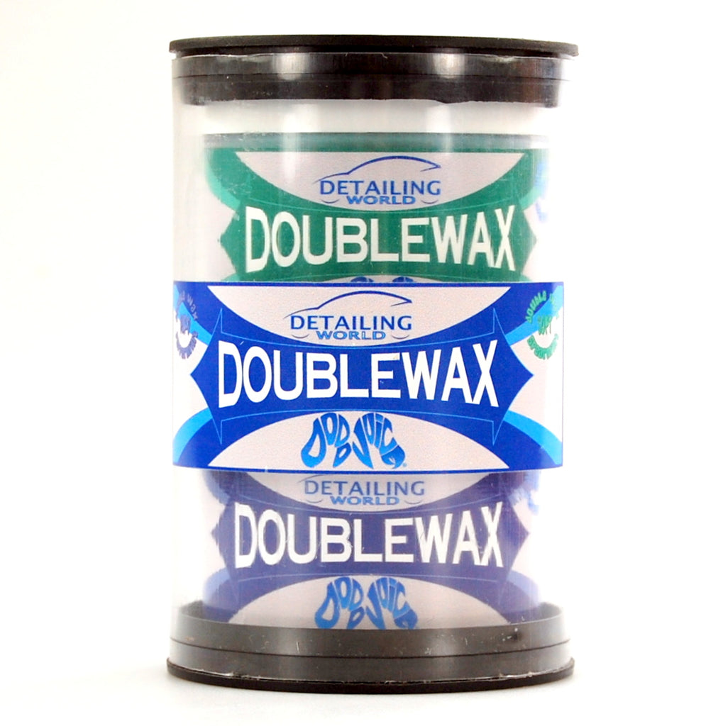Detailing World/Dodo Juice Double Wax 2x200ml = 400ml (Original Recipe) soft and hard wax kit