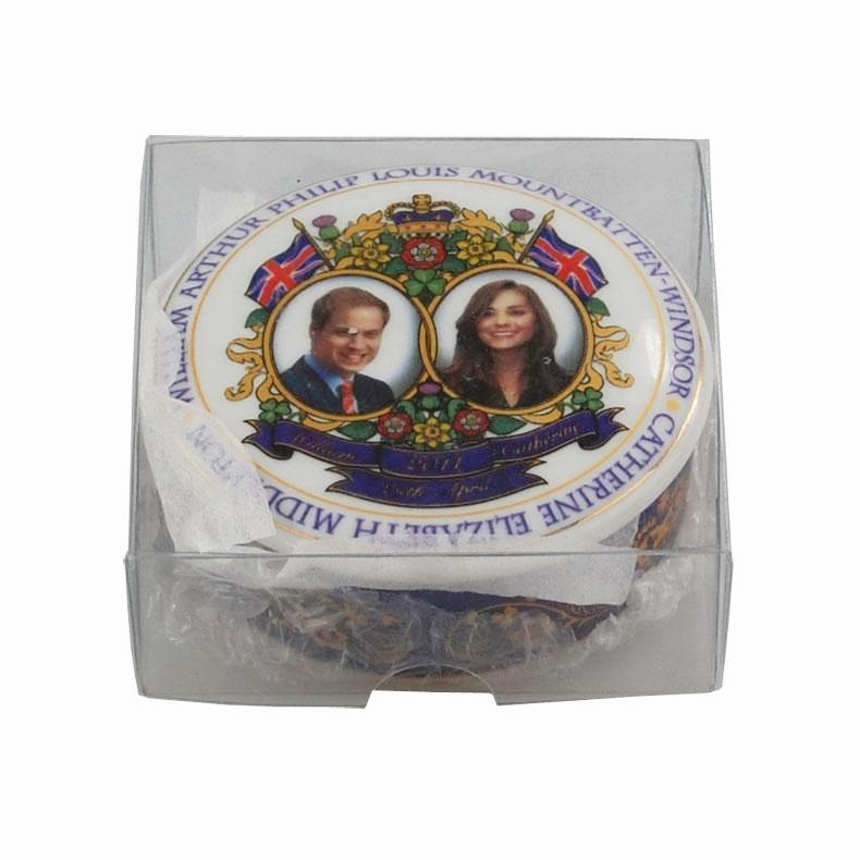 Royal Wedding Commemorative Trinket Wax - car wax collectible RARE