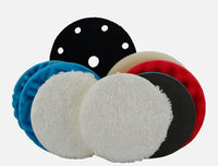 Professional Pads Bundle (Orbital) - orbital/DA machine polishing pad bundle (8 items) £9 saving