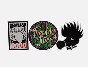 Dodo Juice Scene Sticker Kit - vinyl scene sticker bundle (3 items) £1 saving