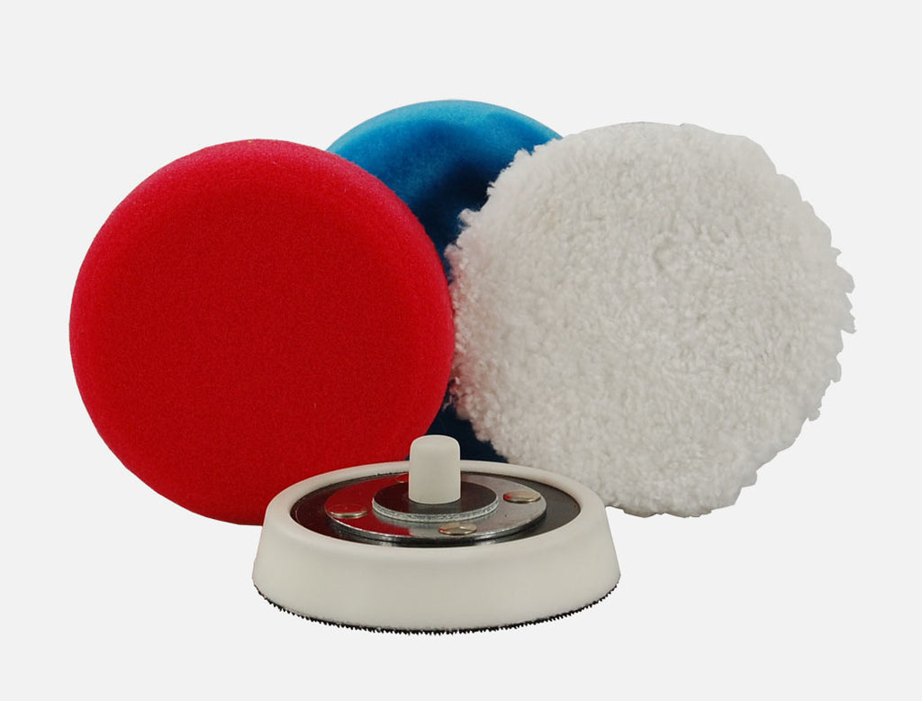 Spot Pad Selection - Small polishing pad bundle - choose orbital/rotary (4-5 items) £4-6 saving