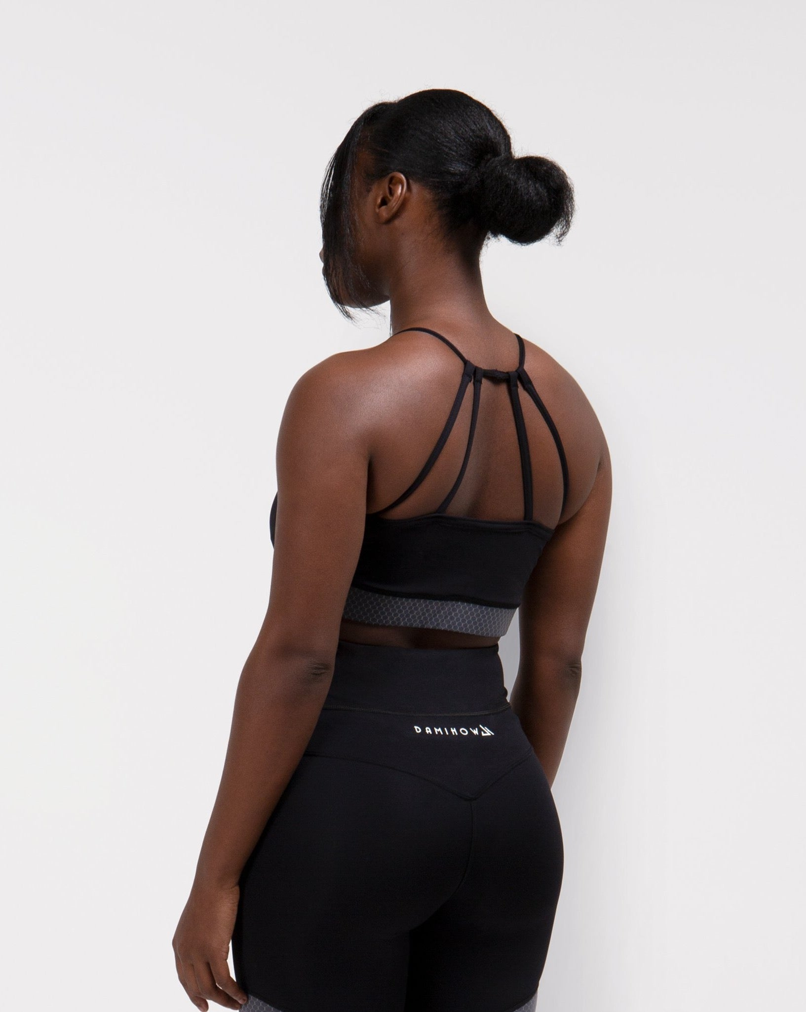 Black Synergy Sports Bra