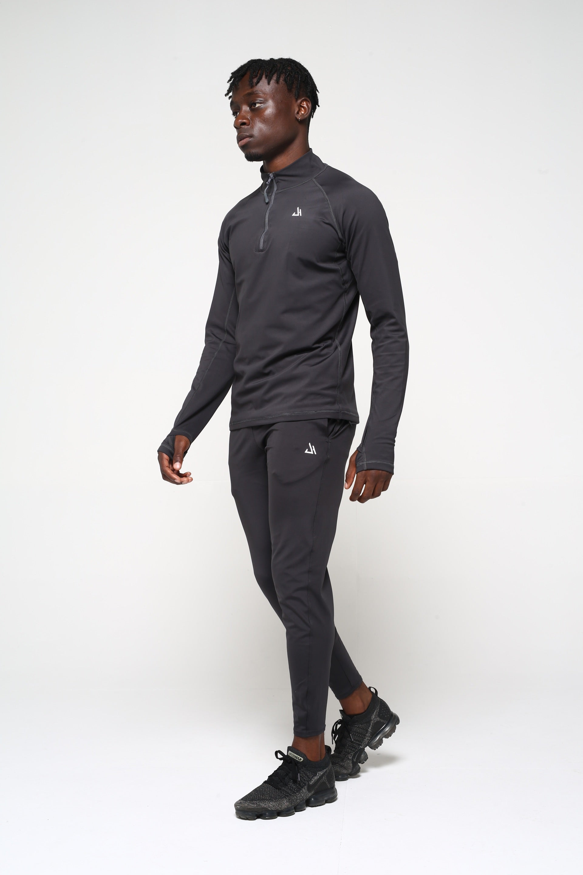 Charcoal 1/4 Zip Pullover