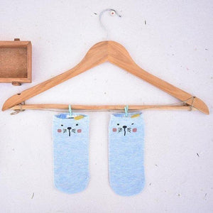 Blue Polars Socks-Thela Gaadi (1494595502128)
