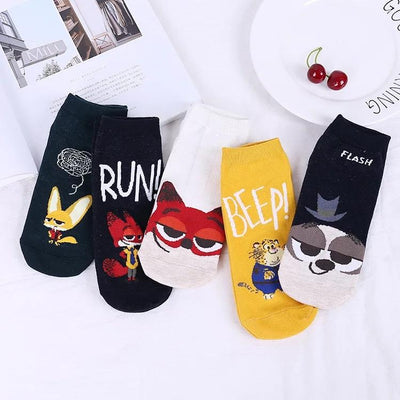 Buzzing Socks Set (Set of 5)-Thela Gaadi (2139200847920)