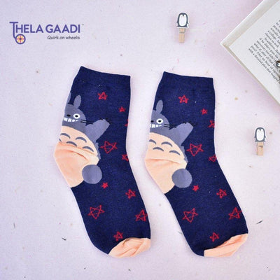 Fatty Penguin Socks - Thela Gaadi