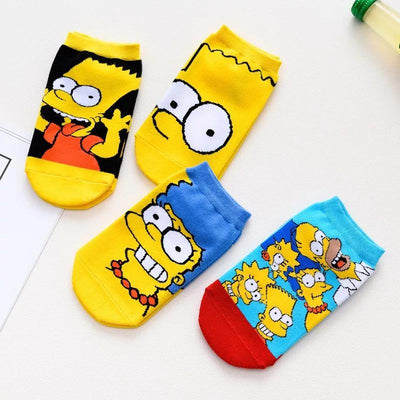 The Simpsons Set (Set of 4) - Thela Gaadi