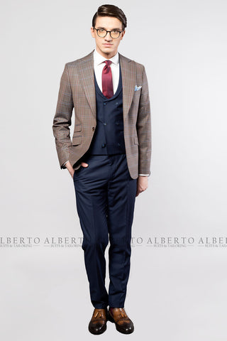 Costum Business Casual Slim-Fit