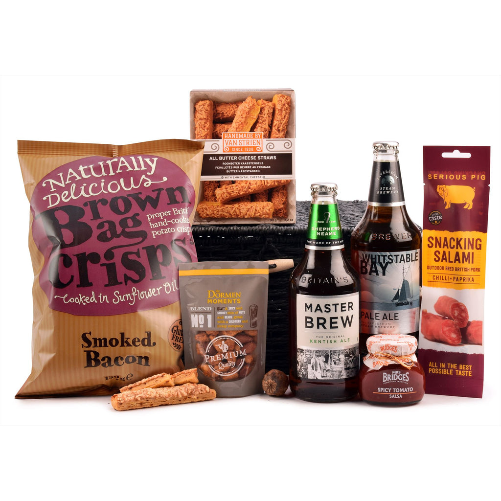 Fine Ales and Savoury Snacks - MoFe Hampers