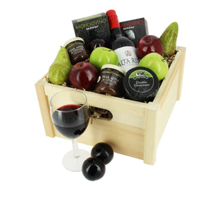 Deluxe Wine & Cheese - MoFe Hampers