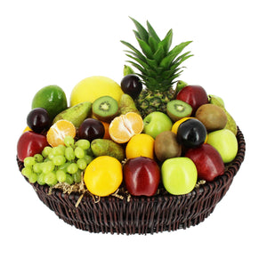 Deluxe Supreme Fruit Basket - MoFe Hampers