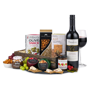 Cheese and wine crate - MoFe Hampers