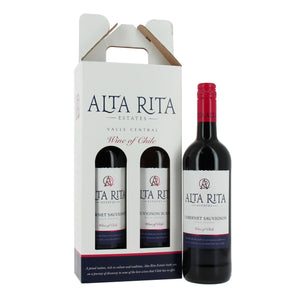 2 Bottle Chilean Red Wine Gift - MoFe Hampers
