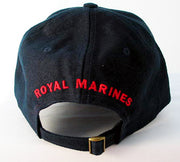 Royal Marines Embroidered Baseball Cap - Navy Blue