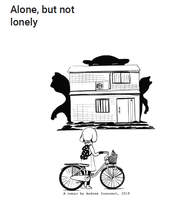 Chiba Ghosts Webcomic - Alone, but not lonely