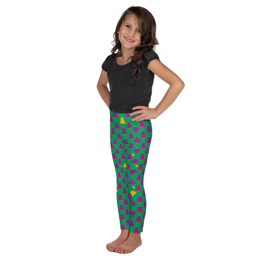 Kid's Lorelei Leggings in Deadly Iris