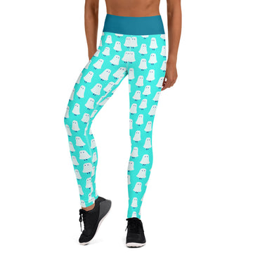 Ghost Logo Yoga Leggings