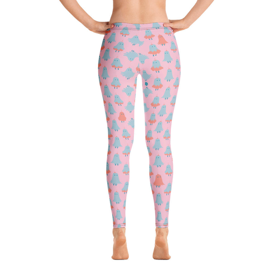 Lorelei Leggings in Peony Sparkle
