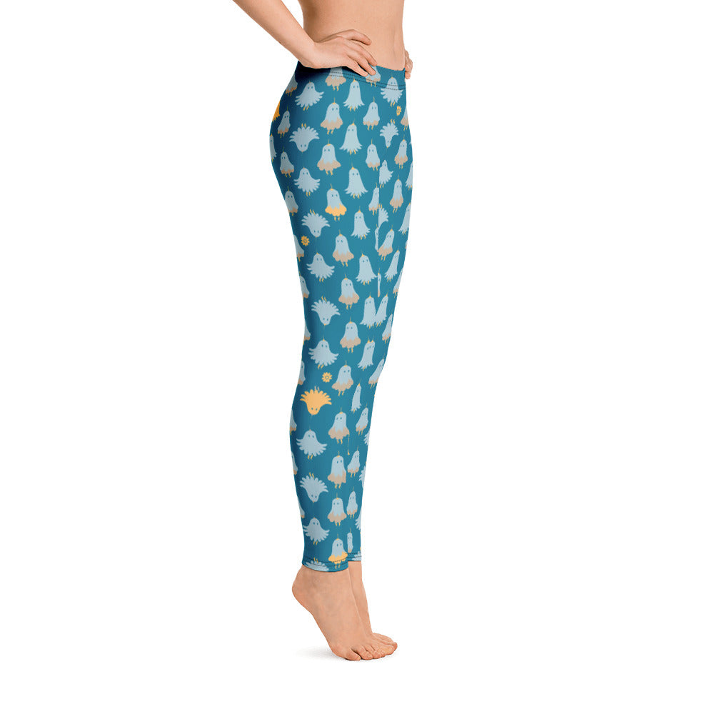 Lorelei Leggings in Blue Mist