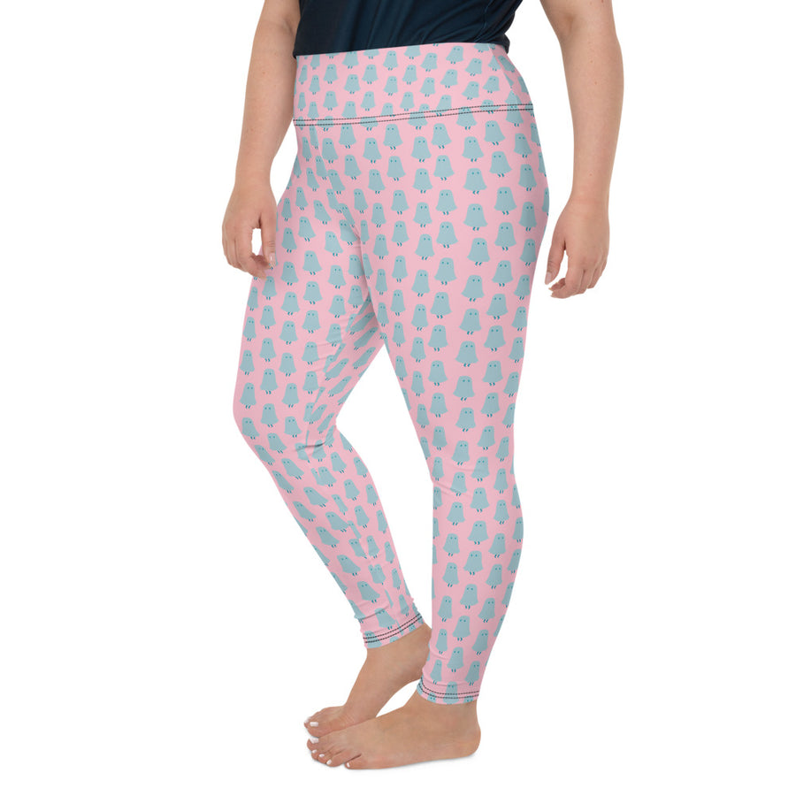 Ghost Logo Leggings in Sprinkle - Plus Size