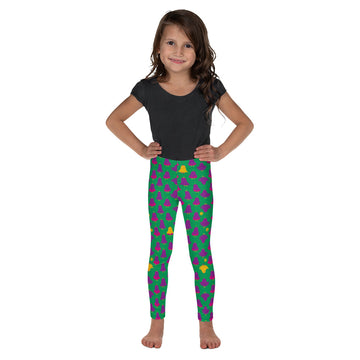 Kids Lorelei Leggings in Deadly Iris