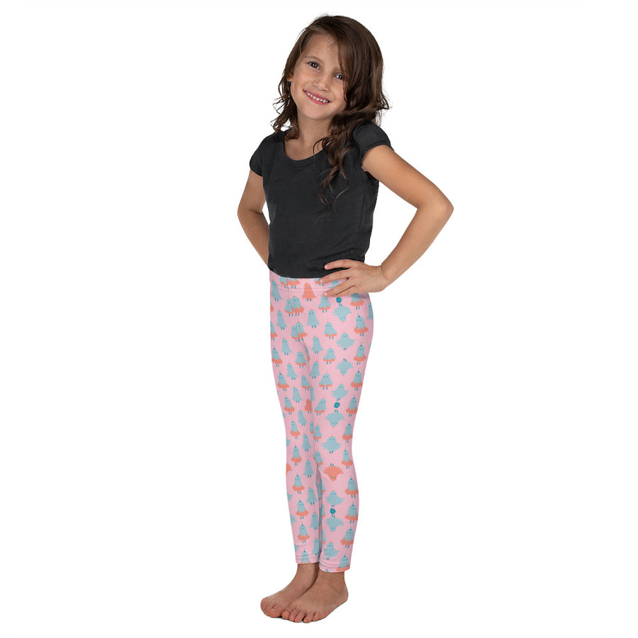 Kids Lorelei Leggings in Peony Sparkle
