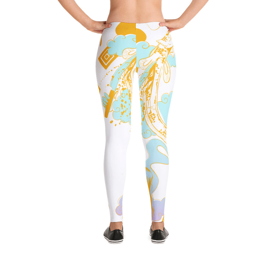 Midnight Kumi Leggings in Tingle