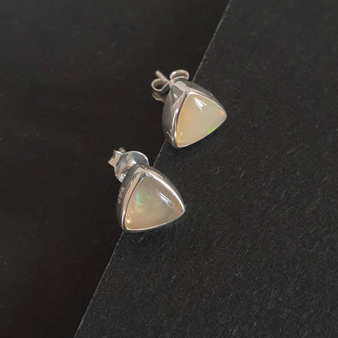 Kecubung Earrings Bali Silver 925 African Opal Stone