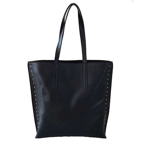 BOLSA ITS! BAÚ PATWORK PRETO