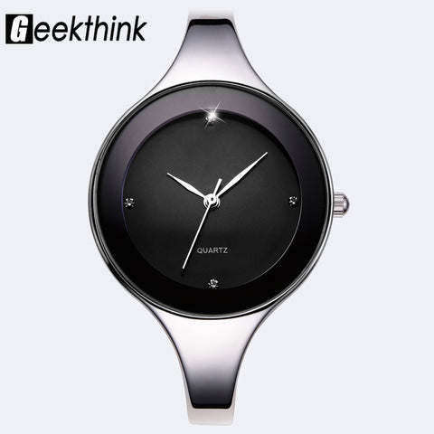 Montre Femme à Bracelet inoxydable GEEKTHINK - Watch Women Stainess Steel Bracelet GEEKTHINK