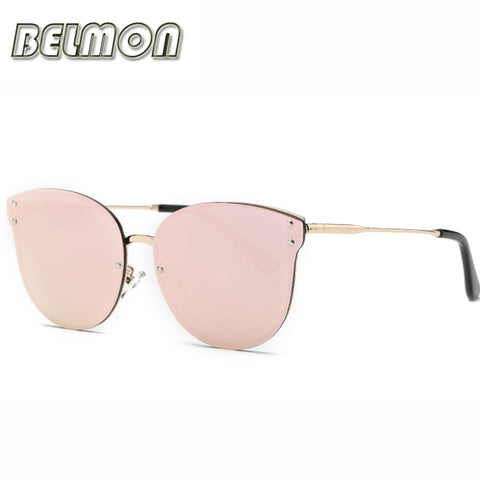 Fashion Sunglasses Rose Gold For Women  -  Lunette de soleil Classe Rose et Or
