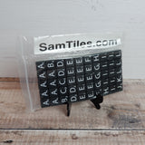 Sam Timer Smooth Tiles - Black