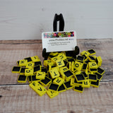 ProTiles - Yellow - Double Injection Moulded Tournament Tiles
