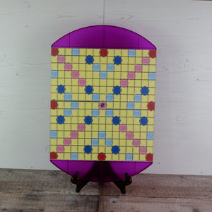 Purple Compact Lightweight Tournament Board