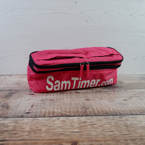 Sam Timer Multipurpose Timer Storage Bag - Pink