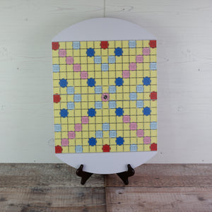 White Compact Lightweight Tournament Board