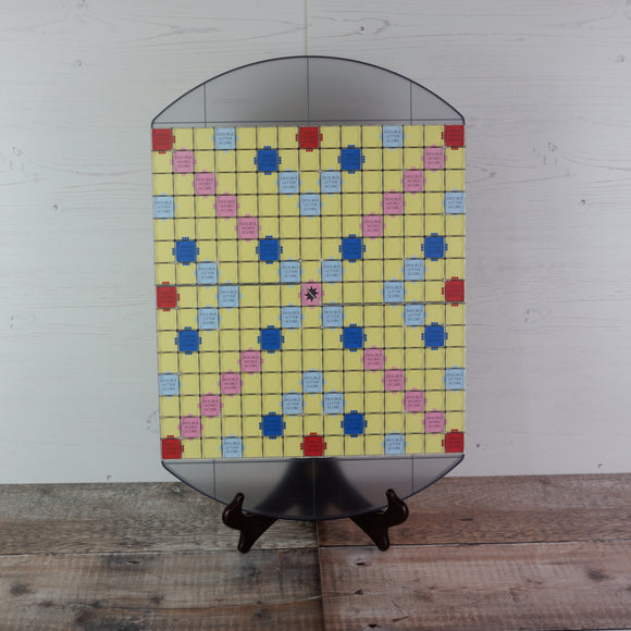 Clear Compact Lightweight Tournament Board