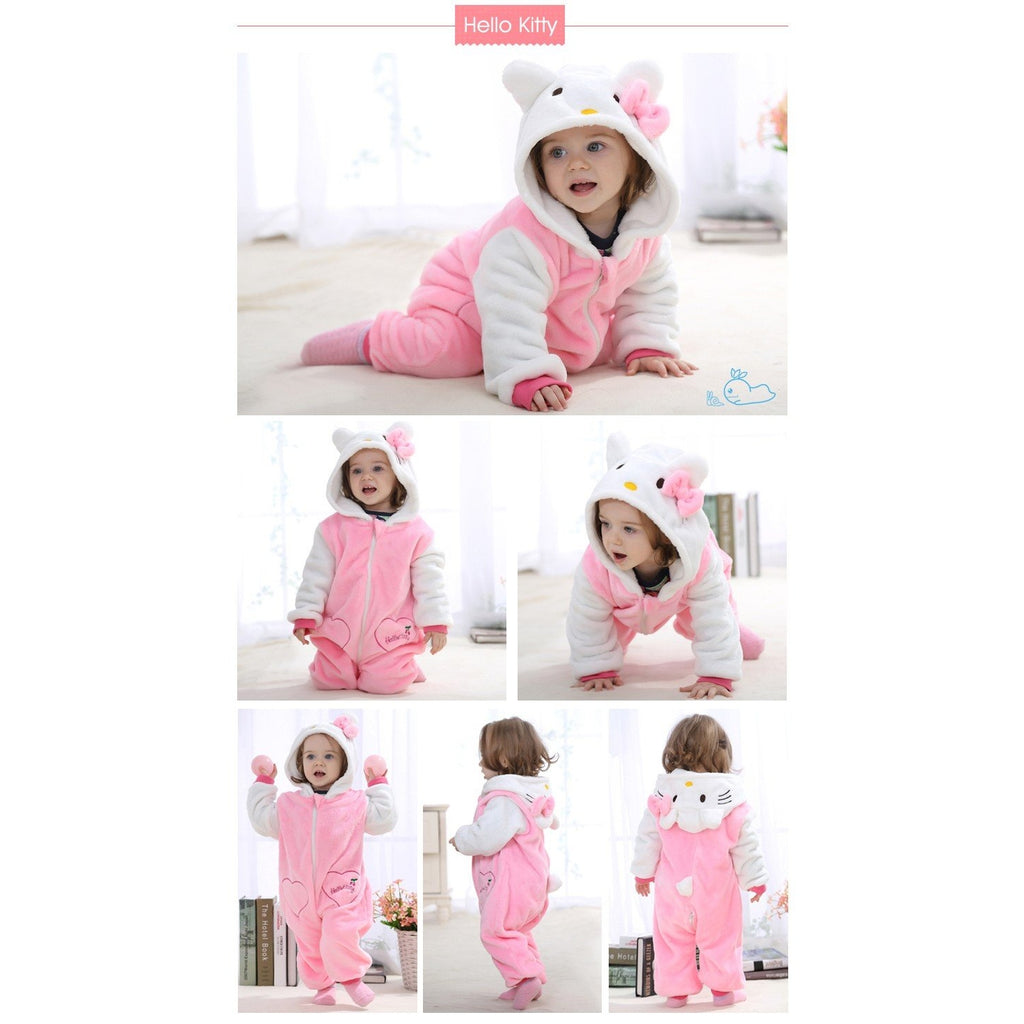 45ee8e7cd Baby Kigurumi Onesie Costume, Color - Hello Kitty-#1 The First Place For ...