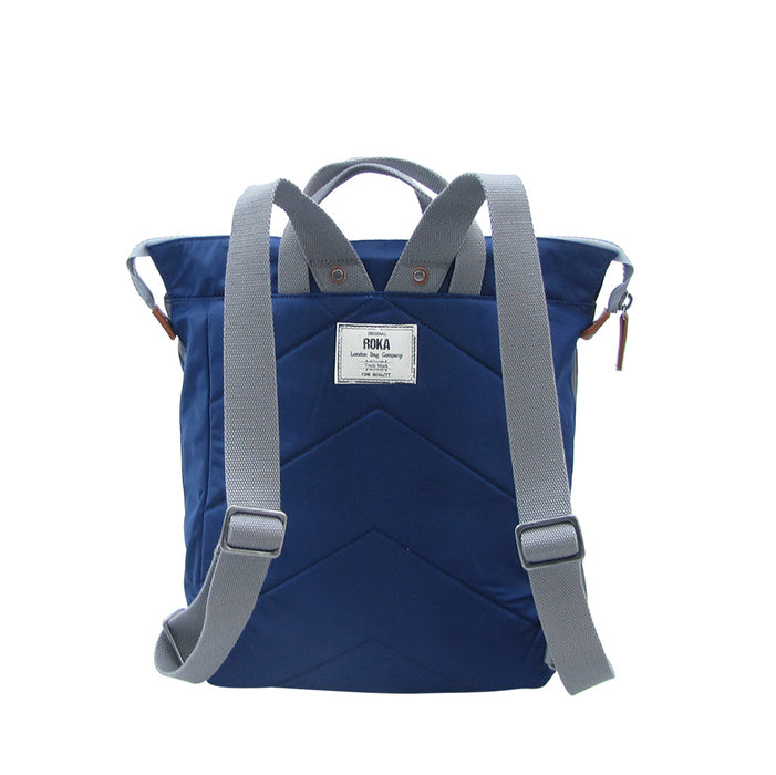 Roka Bags | Bantry C Stripe | Blue | Backpack