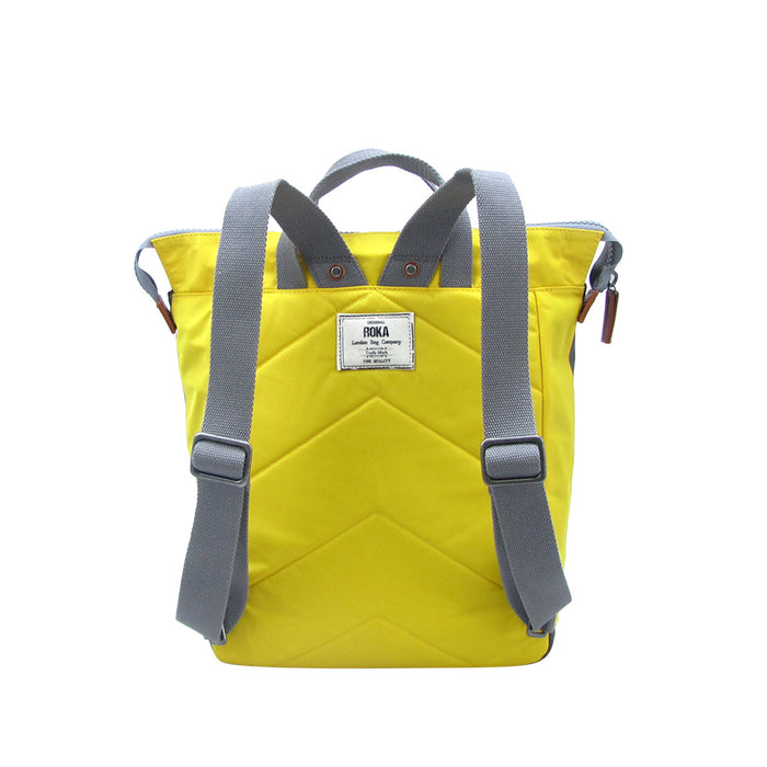 Roka Bags | Bantry C Stripe | Yellow | Backpack