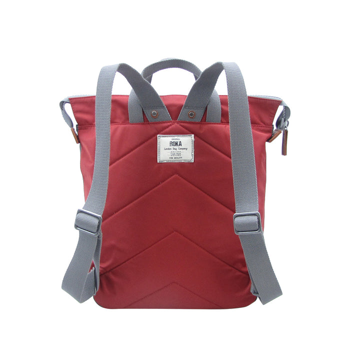 Roka Bags | Bantry C Stripe | Red | Backpack