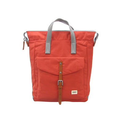 Roka Bags | Bantry C Stripe | Orange | Backpack