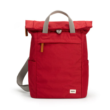 Volcanic RedRoka Bags | Sustainable Backpack | Red