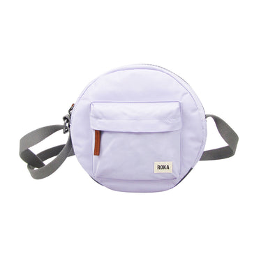 Roka Bags | Round Crossbody | Purple