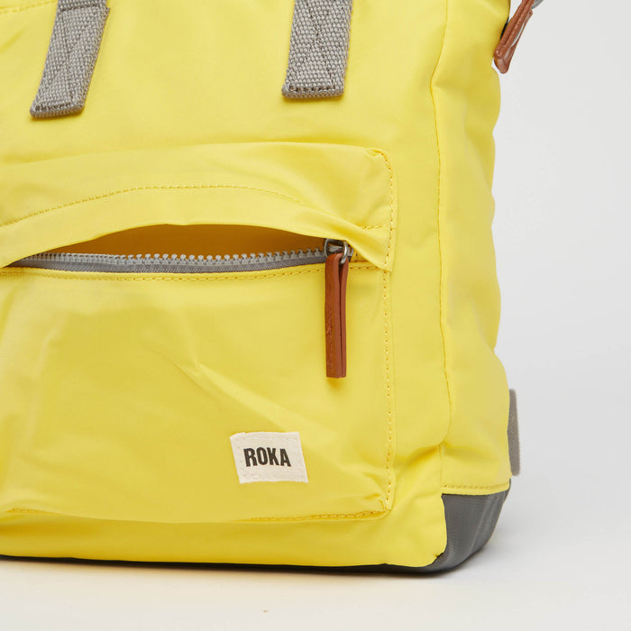 Roka London | Roka Backpacks | Bantry | Backpack | Yellow