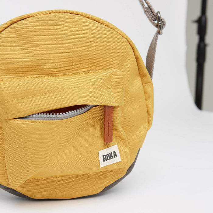 Roka | Sustainable Bag | Crossbody Bag | Yellow