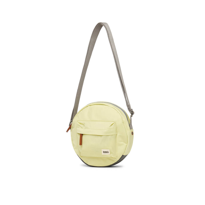 Roka Bags | Crossbody Bag | Round Bag | Yellow