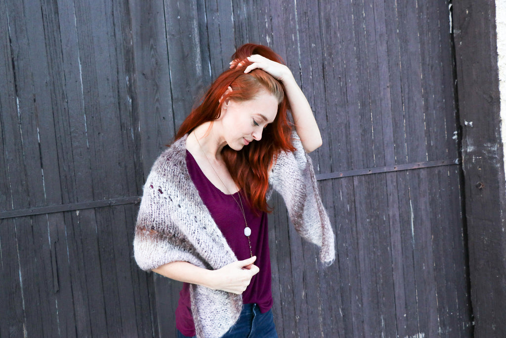 Beautiful Lightweight Cozy Shawl