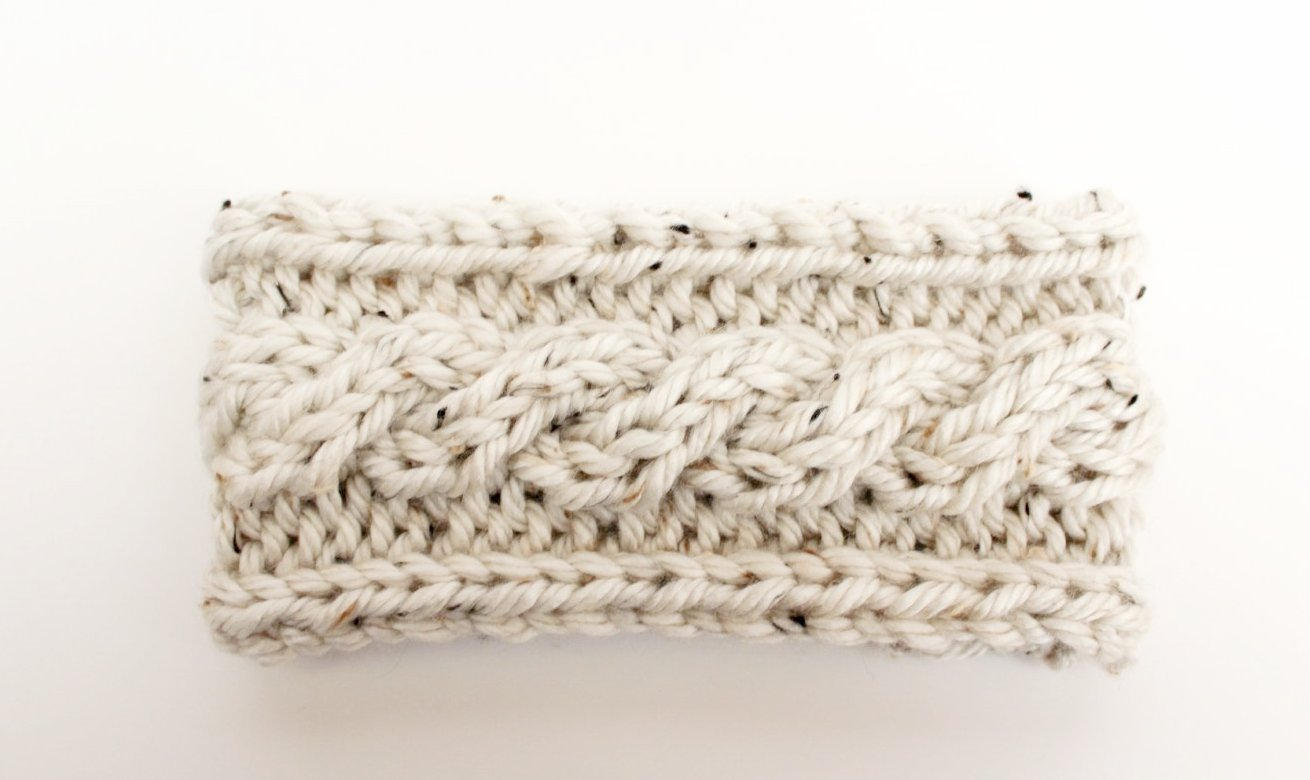 3 pack of Chunky Cable Hand Knit Headband – Sugar Snap Lane
